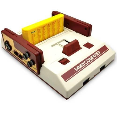 RS35   Retro konsola FC Compact Vintage   132 gry 8-bit