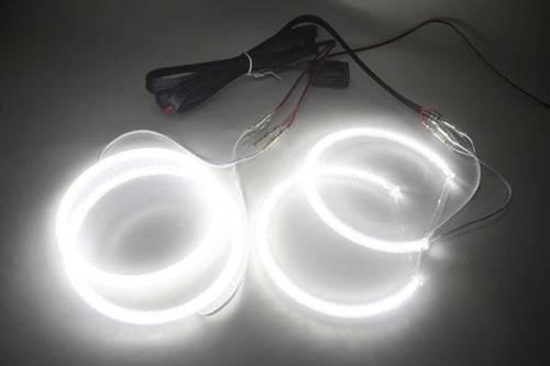 SMD Zestaw ringów LED do BMW E46 sedan po liftingu bez soczewki