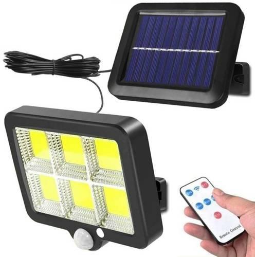 SSL-120LED   Lampa solarna 120 LED COB z modularnym panelem słonecznym