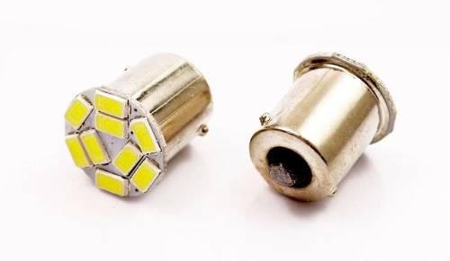 Żarówka samochodowa LED BA15S 9 SMD 5630 FRONT