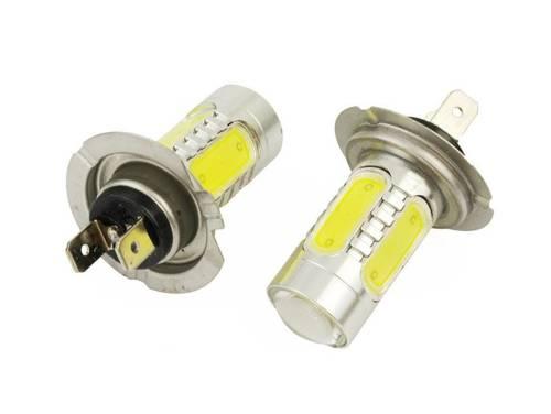 Żarówka samochodowa LED H7 COB 7,5W
