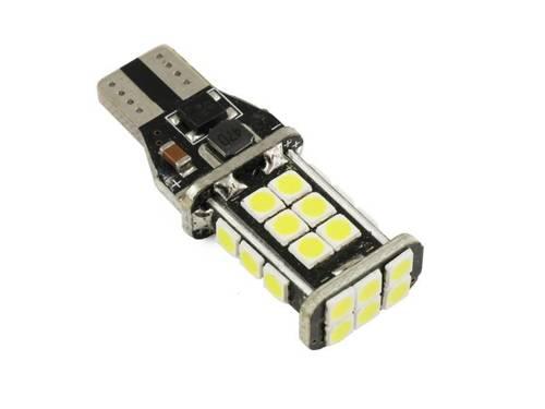 Żarówka samochodowa LED T15 W16W 24 SMD 2835 CANBUS