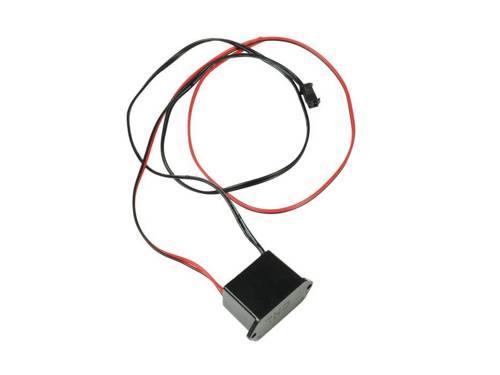 Zestaw - Światłowód Ambient Light El Wire z inverterem 12V   3 metry