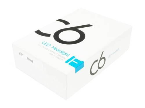 Zestaw żarówek LED HB5 9007 C6 COB BridgeLUX™ 7600 lm