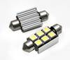 Żarówka samochodowa LED C5W 6 SMD 5050 CAN BUS